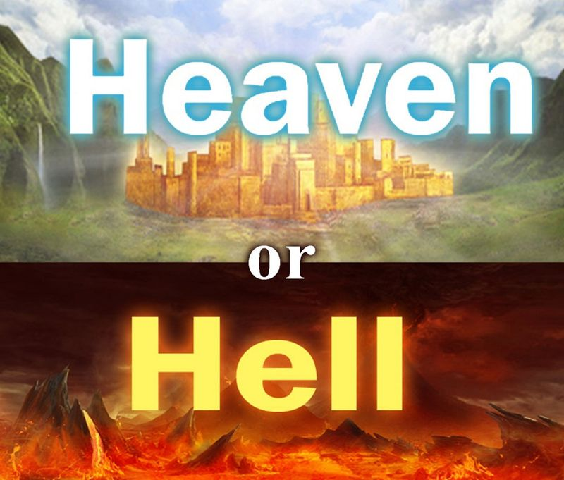 Heaven hell pic